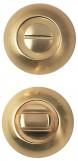 WC-10 S.GOLD  Завертка сантехническая с замком ( комплект)